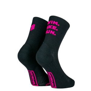 Chaussettes Sporcks - SWIM BIKE RUN BLACK