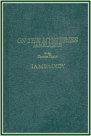 On the Mysteries - Iamblichus