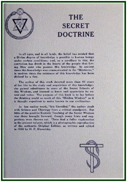The Secret Doctrine and Index