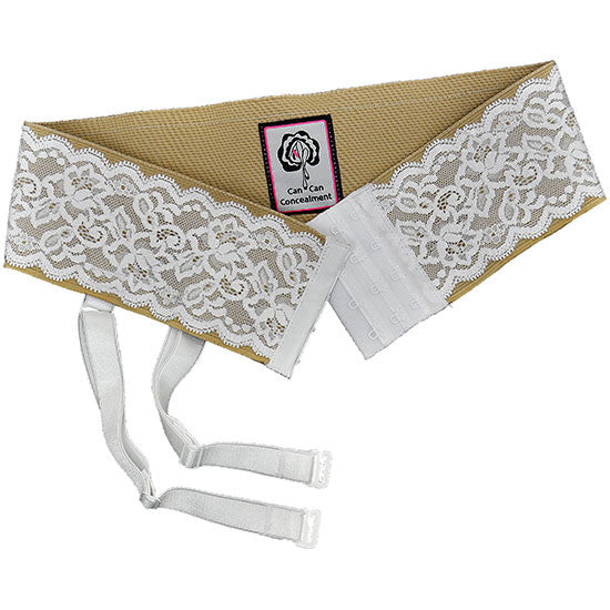 Tan Garter Belt for Garter Holsters
