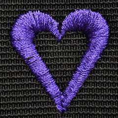 Purple Embroidery