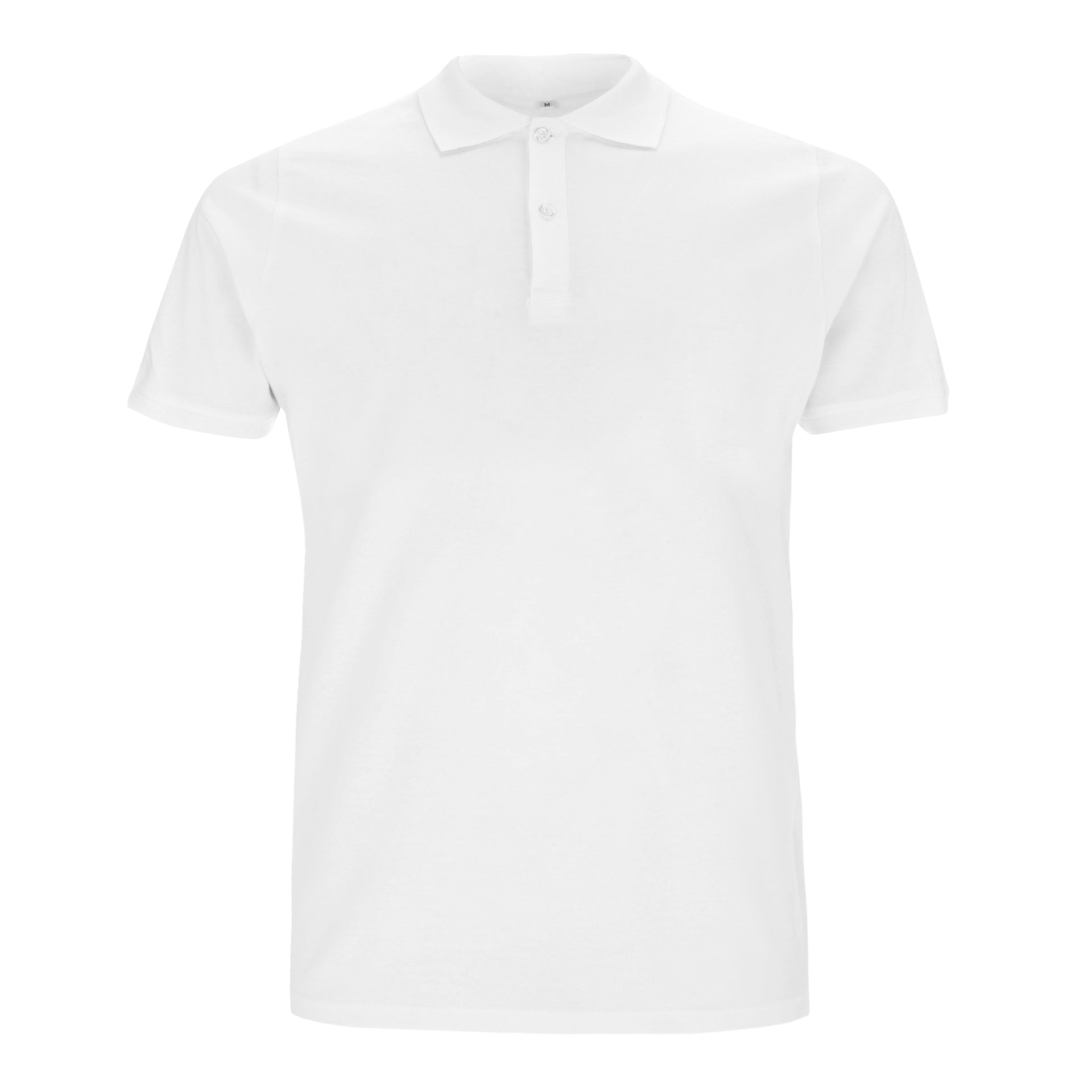 Polo Shirt - Black & White