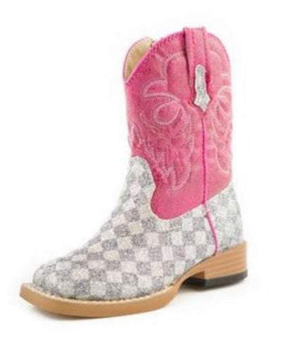 Roper All that Glitters Pink Boot