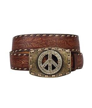Ariat Women's City Girl Leather Belt - 10005827
