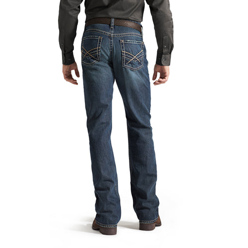 Ariat Men's Lowrise M4 Deadrun Bootcut Jean - 10014008