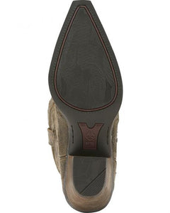 Ariat Women's Western X-Toe Wingtip Broken Slate - 10015275