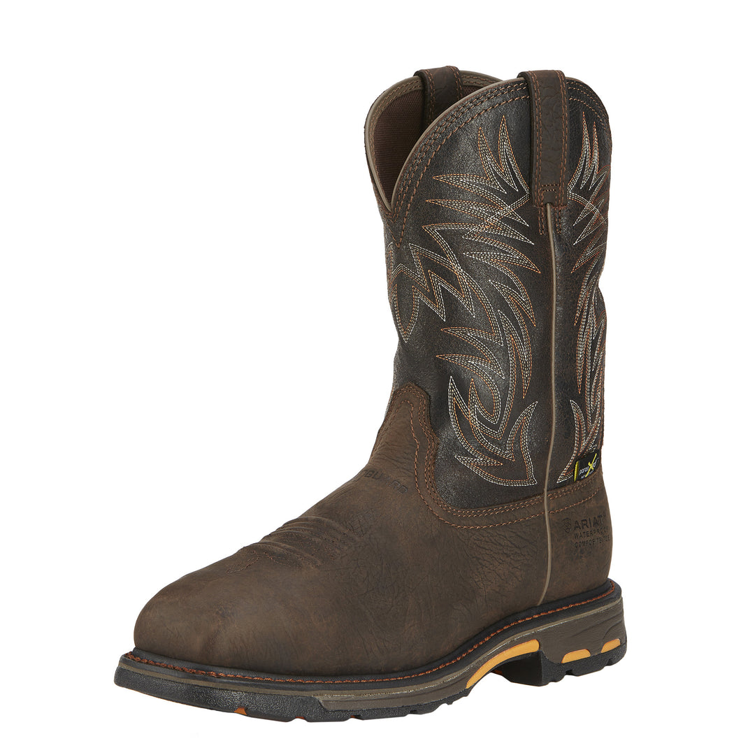 Ariat Workhog Square Toe H20 Metguard