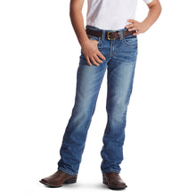 Ariat Boys' B5 Slim Charger Stackable Straight Leg Jean