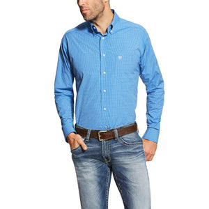 Men's Andy Perf Blue Shirt - 10018974