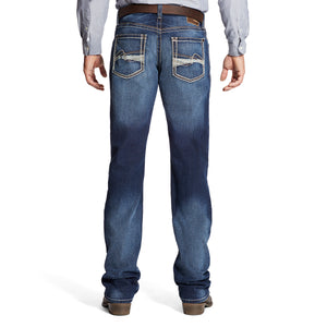 Ariat Men's M4 Low Rise Whitewashed Bootcut Jeans - 10019555