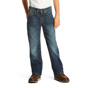 Ariat Boys' B5 Slim Falcon Stackable Straight Leg Jean