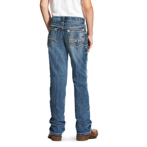 Ariat Kids' B4 Relaxed Coltrane Boot Cut Jeans