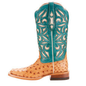Women's Ariat Carmencita Full Quill Ostrich Boot