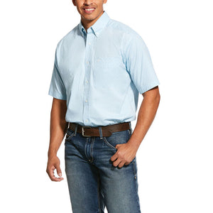 Ariat® Men's Louisville Stretch Short Sleeve Button-Up Shirt