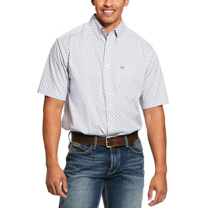 Ariat Men's Short Sleeve Lucas Print Classic Fit Shirt