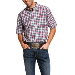 Men's Pro Series Newington Classic Fit Short Sleeve Shirt by Ariat