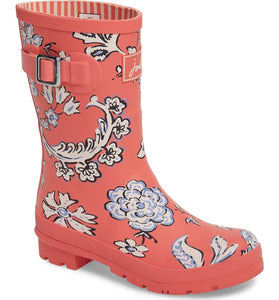 Joules Molly Mid-Height Printed Rain Boot