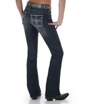 Wrangler Women's Premium Patch with Booty Up Technology - 10MWZPE