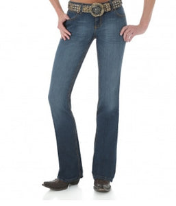 Wrangler Ladies Premium Patch w/ Booty Up Technology - 10MWZMT