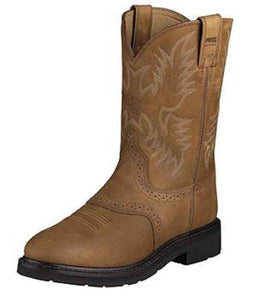Ariat Aged Bark Sierra Saddle Work Boot -10002304