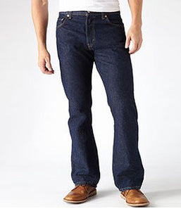 Levi 505 Rinsed Straight Fit Jean