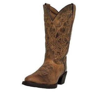 Laredo Women's Brown Distressed Boot - 51112