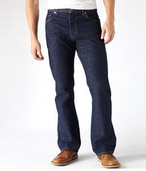 Levi's 517 Rinsed Boot Cut Fit Jeans