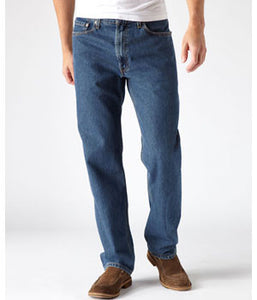 Levi's 550 Dark Stonewash Relaxed Fit