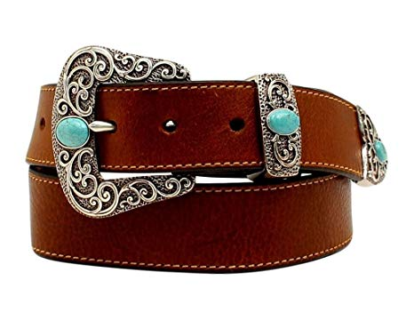 Women's Brown Western Belt