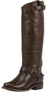 Women's Black Star Virgo Riding Boot - 6492