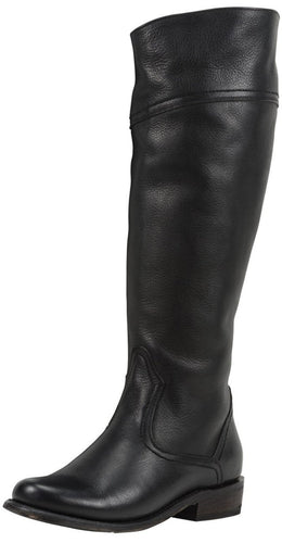 Black Star Women's Black Capricornus Riding Boot - 6512
