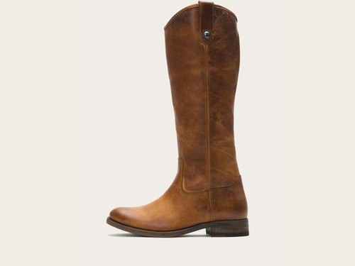 Frye Melissa Button Riding Boot - Cognac
