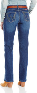 Wrangler Women's Ultimate Riding Q-baby Jean