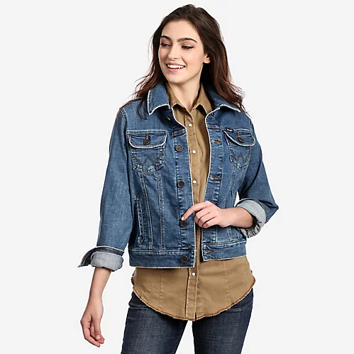Fashion Denim Jacket by Wrangler