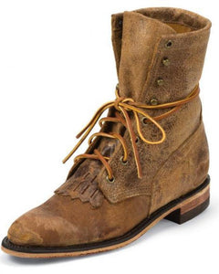Women's Justin Boots Distressed Tan Bent Rail - BRL50