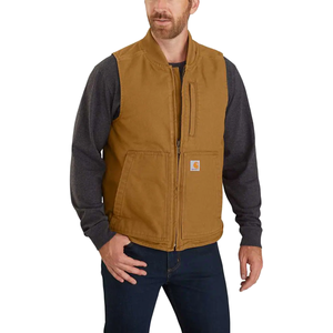 CARHARTT® WASHED DUCK INSULATED RIB COLLAR VEST - 104395
