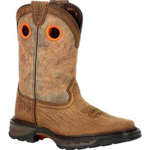 LIL' DURANGO® MAVERICK XP™ BIG KID'S BAY BROWN WESTERN BOOT