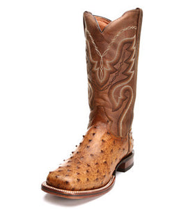 Dan Post Bay Apache Full Quill Ostrich - DP2984