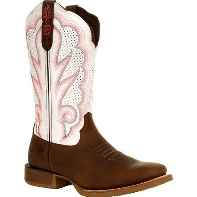 Durango Lady Rebel Pro Women's White Ventilated Western Boot