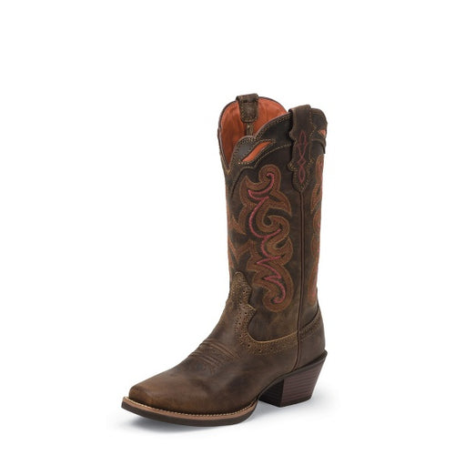 Women's Justin Boot Sevana Coffee Boot - SVL7319