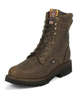 Justin Boots Rugged Bay Gaucho Steel Toe - 445