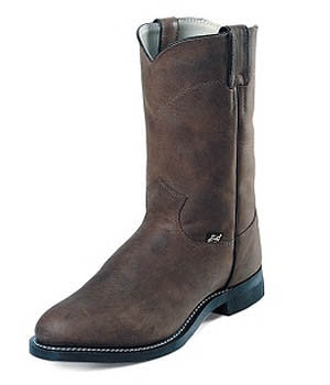 Justin Men's Basic Roper Crazy Cow - JB3001