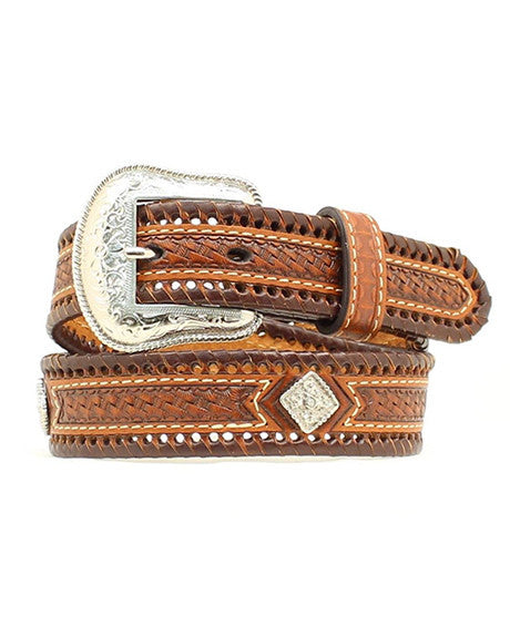 Nocona Kids Basketweave Belt