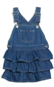Infant/Toddler Denim Ruffle Skirtall
