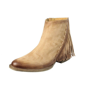 Women's Circle G by Corral Side Fringe Shortie - Q0035