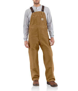 Carhartt Brown Unlined Overall - R01BRN
