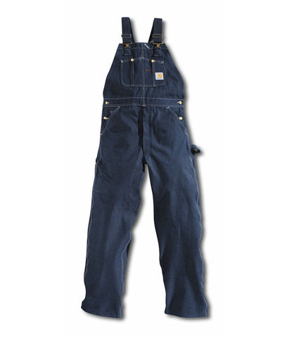 Carhartt Denim Unlined Bib Overall - R08DNM