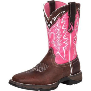 Women's Durgano Pink Ribbon Boot - RD3557
