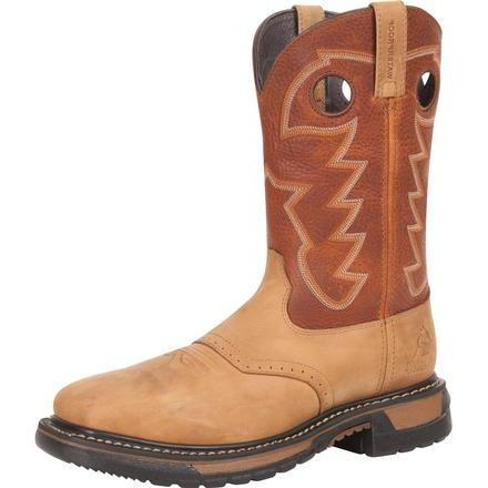 Rocky Men's Original Ride Steel Toe Waterproof Boot - RKYW041