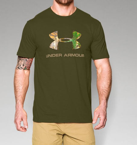 Under Armour Camo Fill Logo T-Shirt